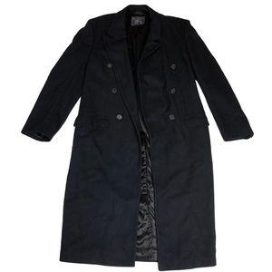 Burberry Men's London Wool Long Overcoat 42 Tall